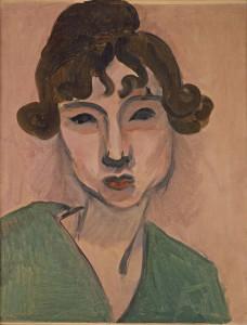 Matisse, Henri 1869 - 1954 Laurette au châle vert 1917