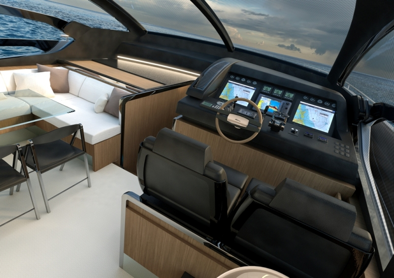 Sporty features and elegance for the newborn Riva 76