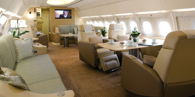 """The finalists in """"Private Jet Design"""" at the International"""