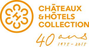 logo Châteaux & Hôtels Collection 40 ans