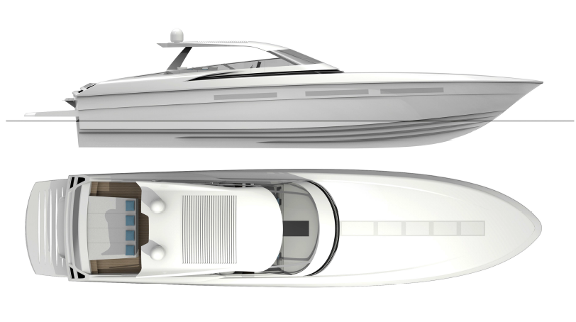 The new Magnum Marine 80 by AM Yacht Design. Fast day ...