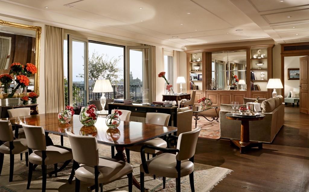 Palazzo Parigi Hotel, Presidential Suite, Living .2