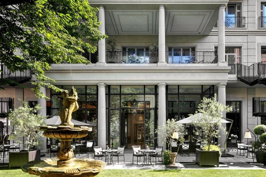 Palazzo Parigi _ Garden