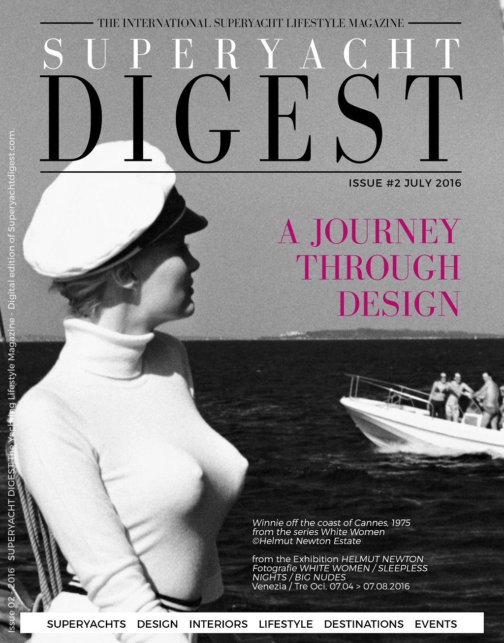 SUPERYACHT DIGEST The July Issue 2016 COVER - LOW