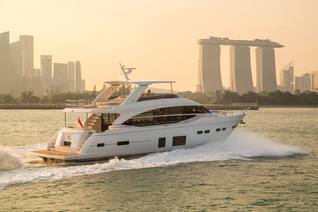 Cannes 2016 princess yachts superyachtdigest for Princess 75 motor yacht