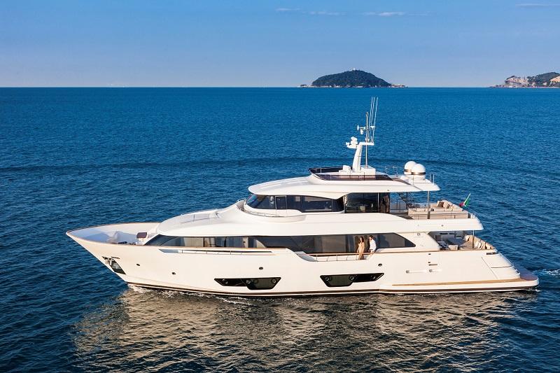 Ferretti Group@Palm Beach Int.l Boat Show - Custom Line Navetta 28