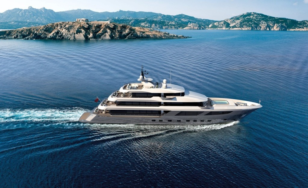 Majesty 175 currently under construction. Completion date: 2019