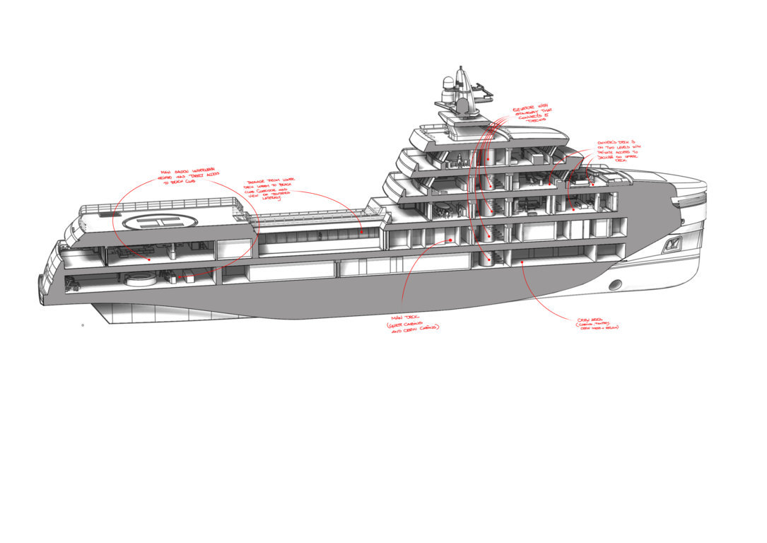 Tommaso Spadolini reveals layout details of the85m Rosetti