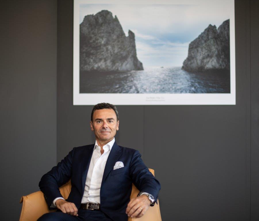 Azimut Benetti CEO Marco Valle
