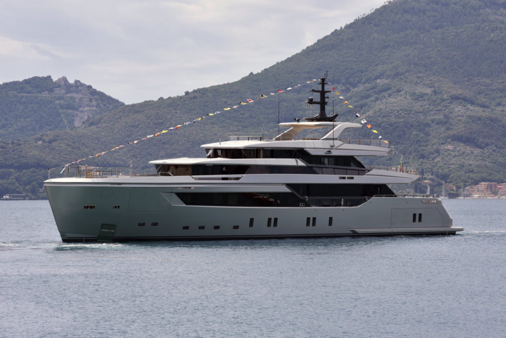 First Sanlorenzo 44Alloy launched